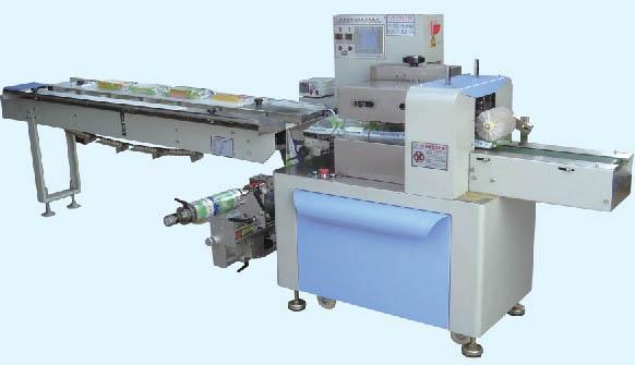 HC-400F  下走膜多功能自动包装机(可配套全自动化下料)