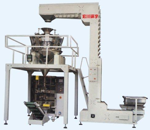 HC-420D大型立式电子秤配套包装机