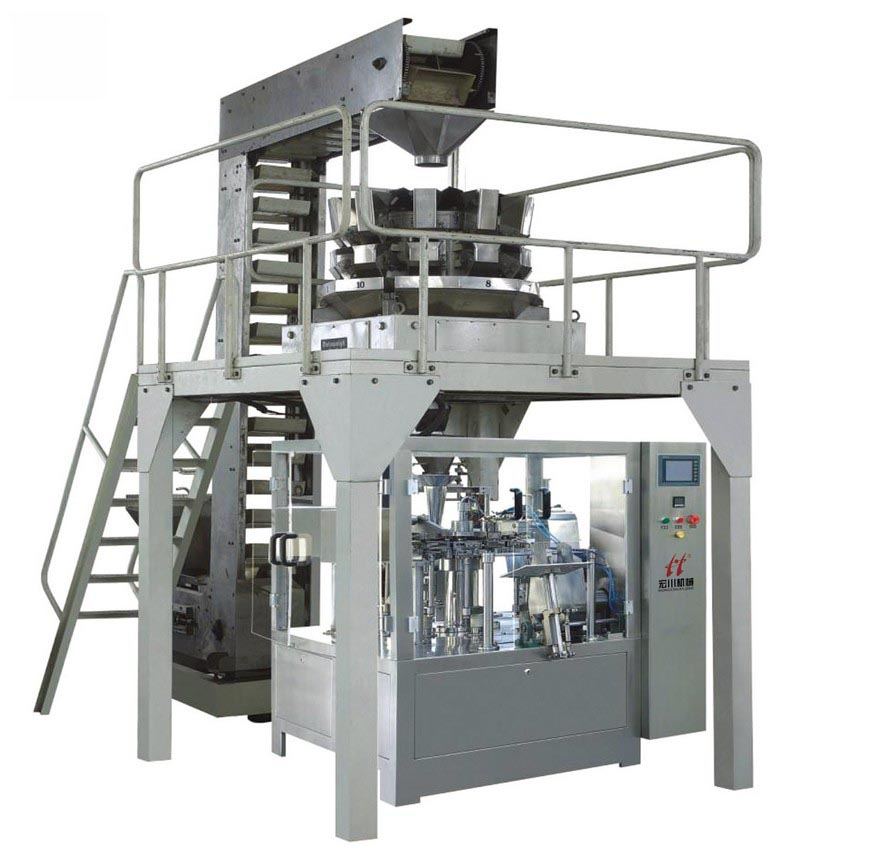 HC-220 Automatic Rotary type Bag-given Packaging Machine